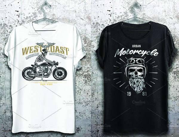skull vintage t shirt