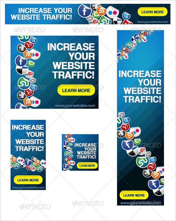 social media network banner ad