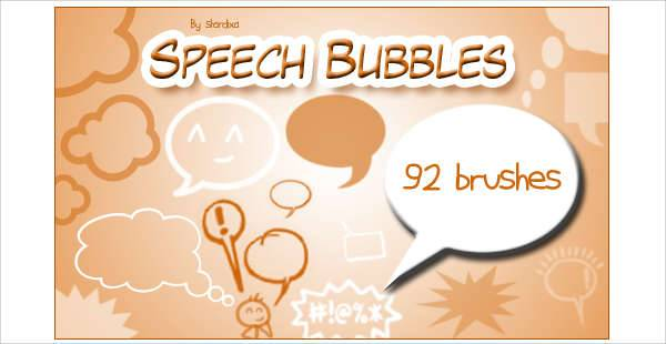 Speech Bubble Brushes