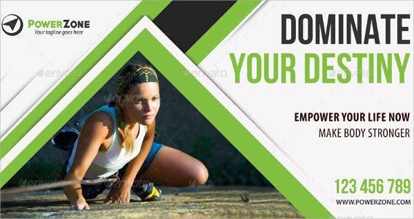 sports activity banner