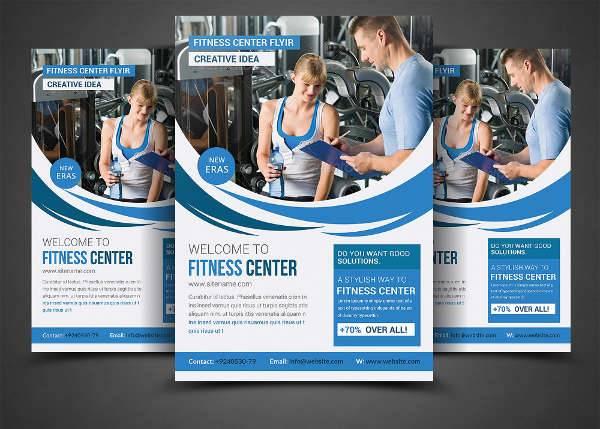 Sports & Fitness Health Flyer