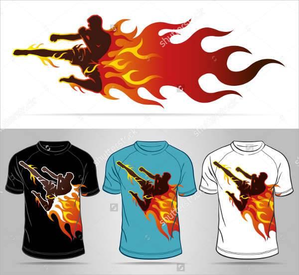 sports t shirt logo