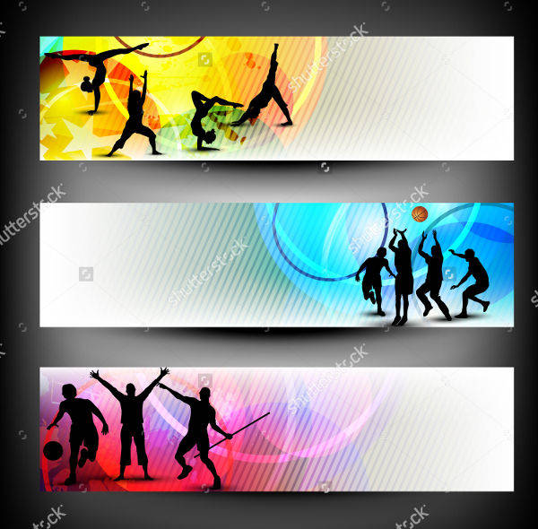 sports web banners