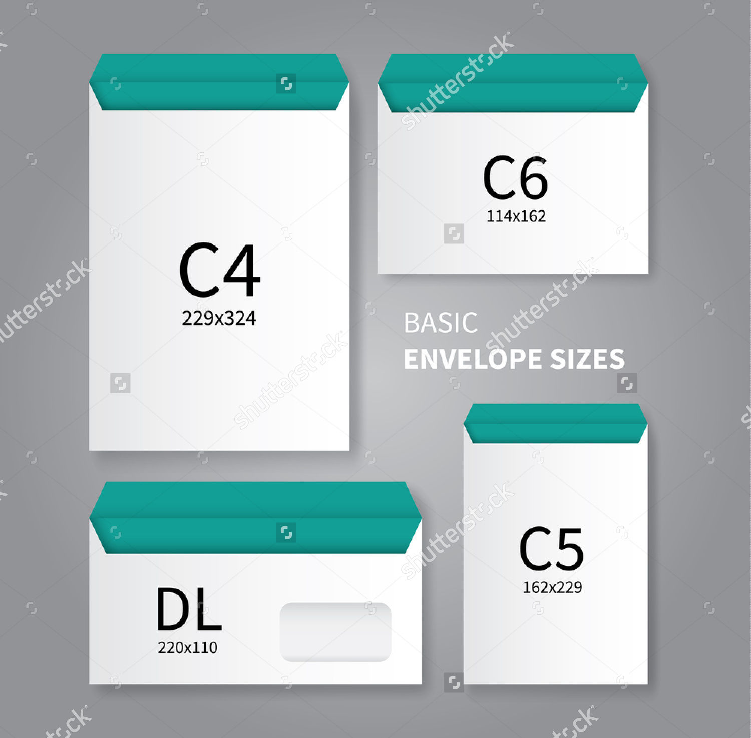 Stationery Envelope Design