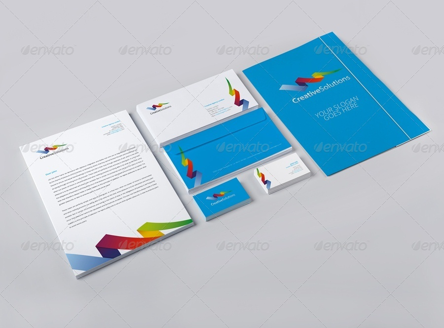 stationery identity design