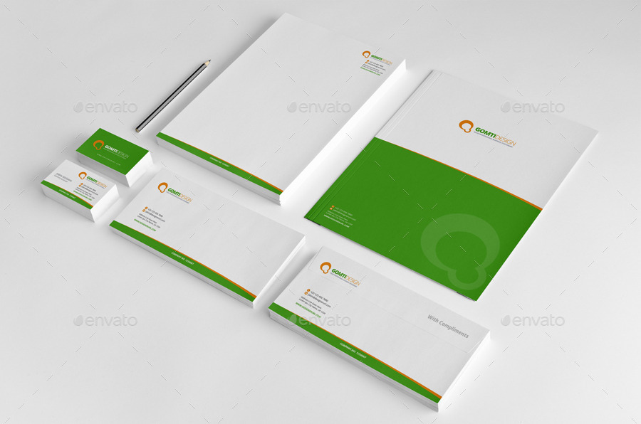 stationery invoice design