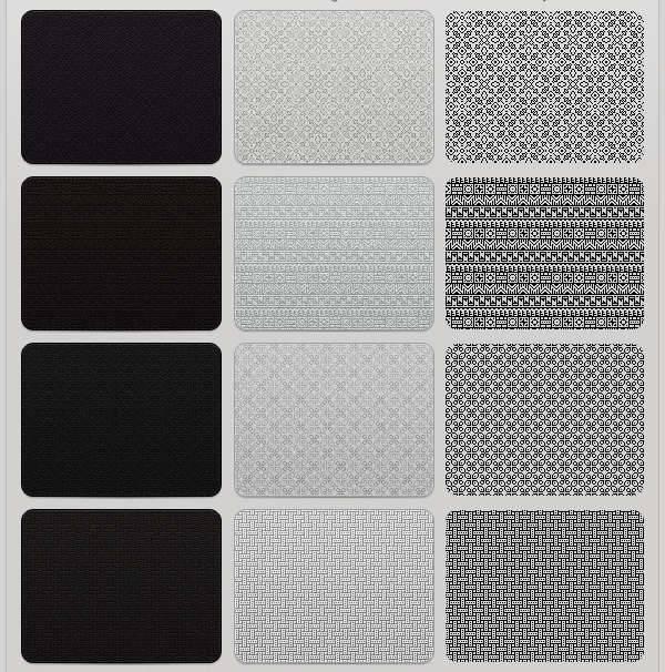 subtle pixels patterns