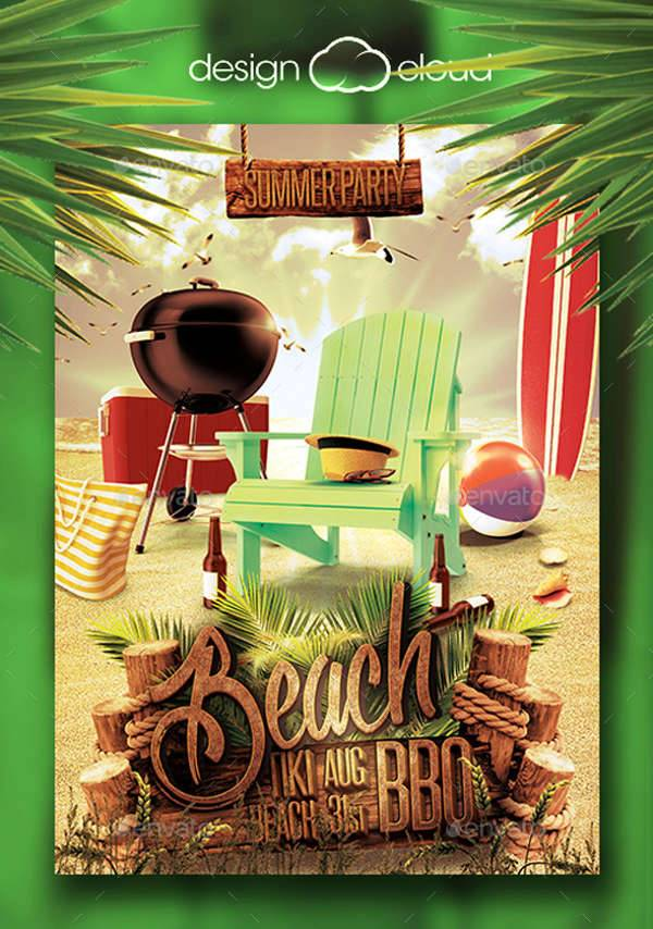 62  summer flyer designs