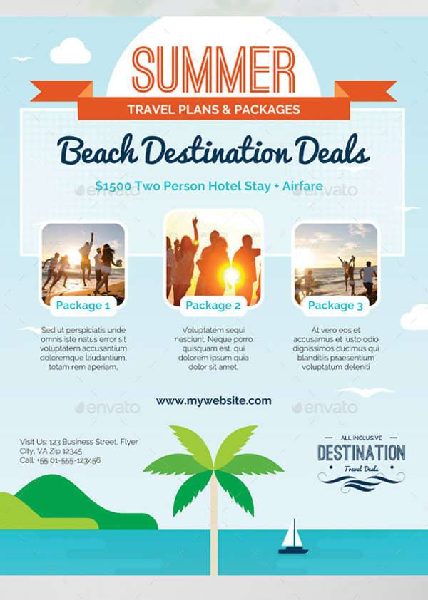 Summer Business Travel Flyer