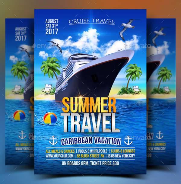 12  cruise flyer designs