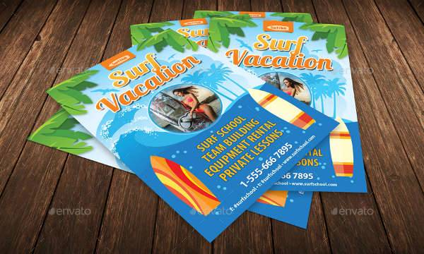Summer Holiday Vacation Flyer