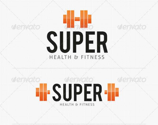 Super Gym & Fitness Logo