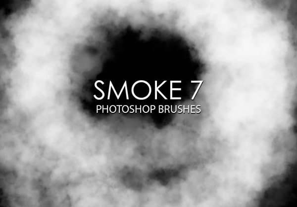 swirl smoke brushes