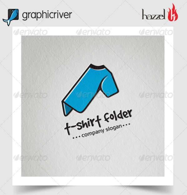 t shirt folder logo
