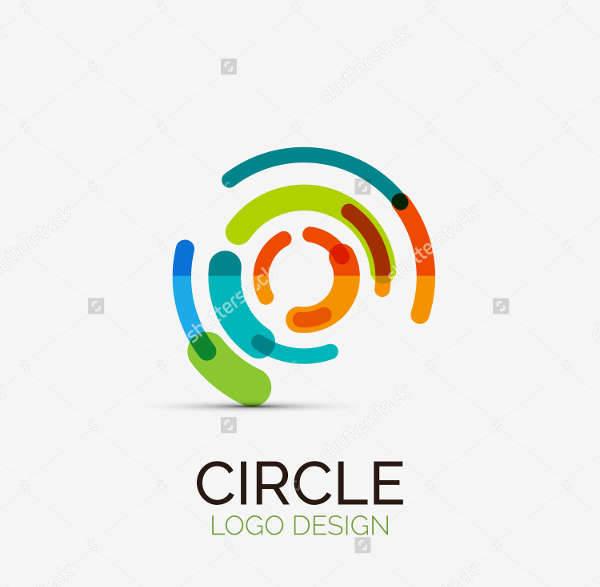 tech company circle logo