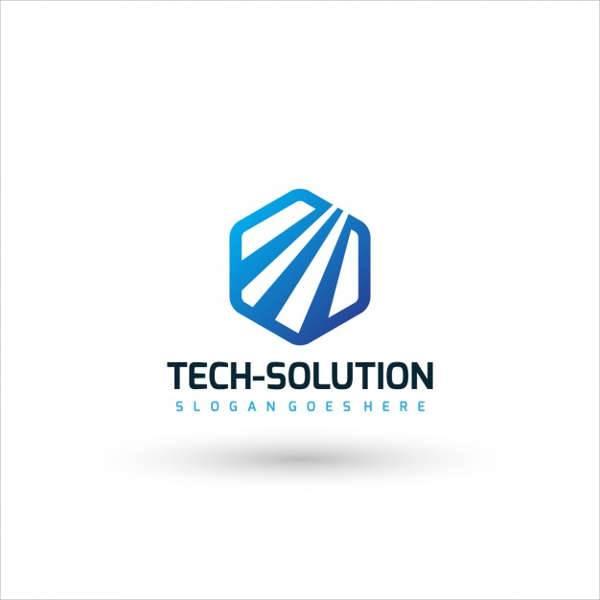 Tech Company Logo Template