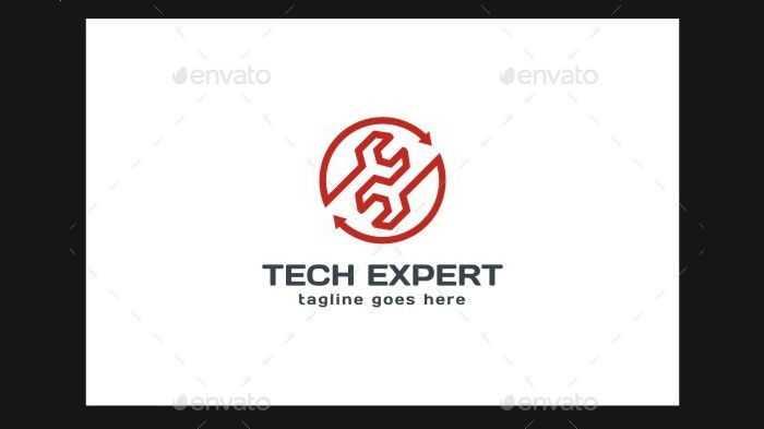 tech expert service logo