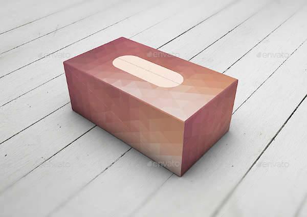 tissue cardboard box