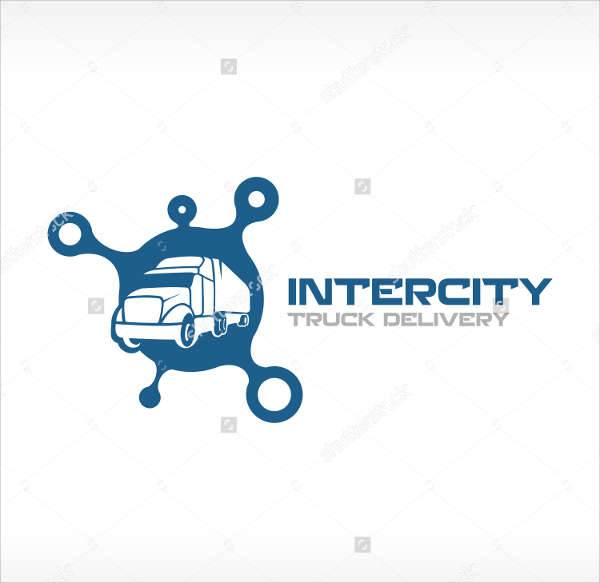 transport service company logo