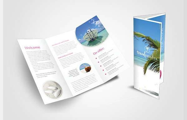 Travel Agency Trifold Brochure