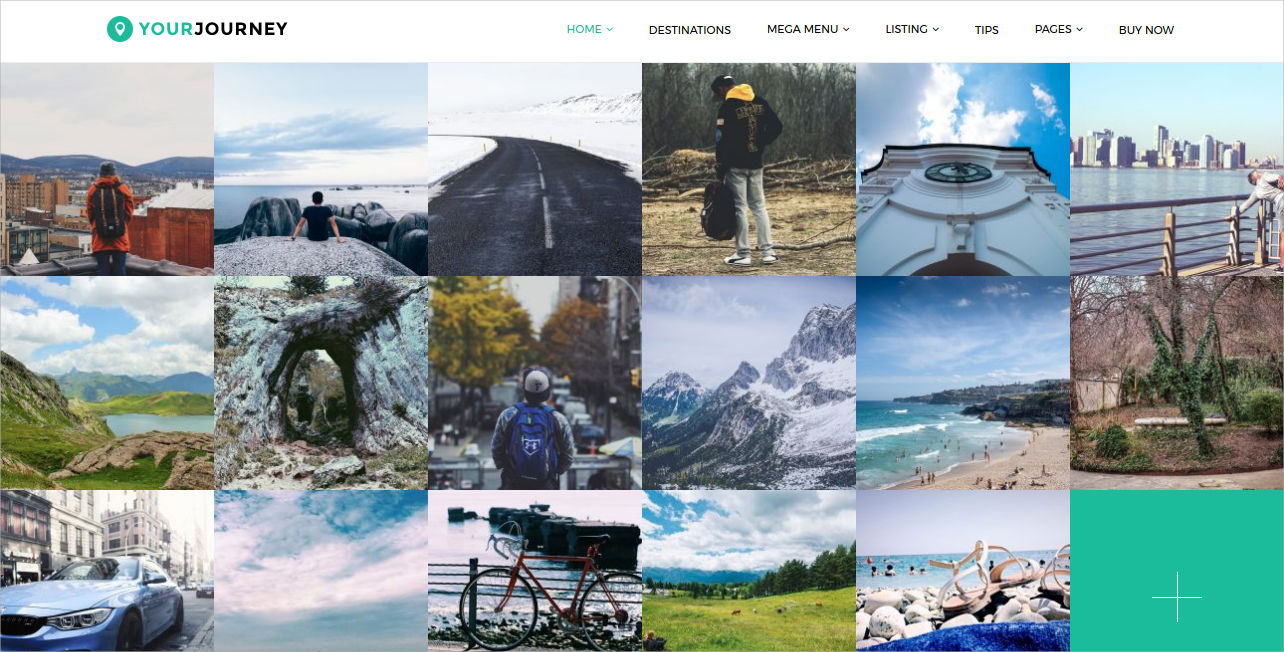 travel blog wp theme