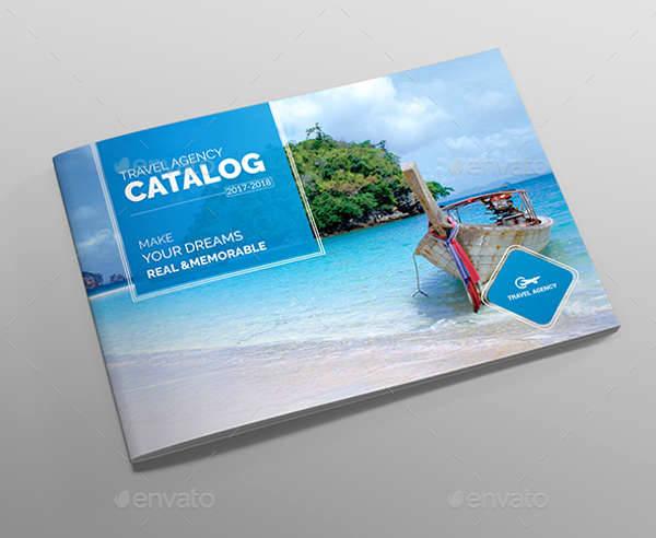 Travel Brochure & Catalog Template