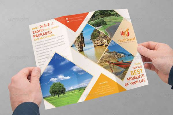26 travel brochure designs design trends premium psd for Sample brochure design tourism