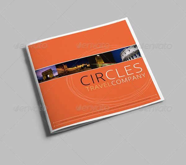 Travel Company Brochure Design