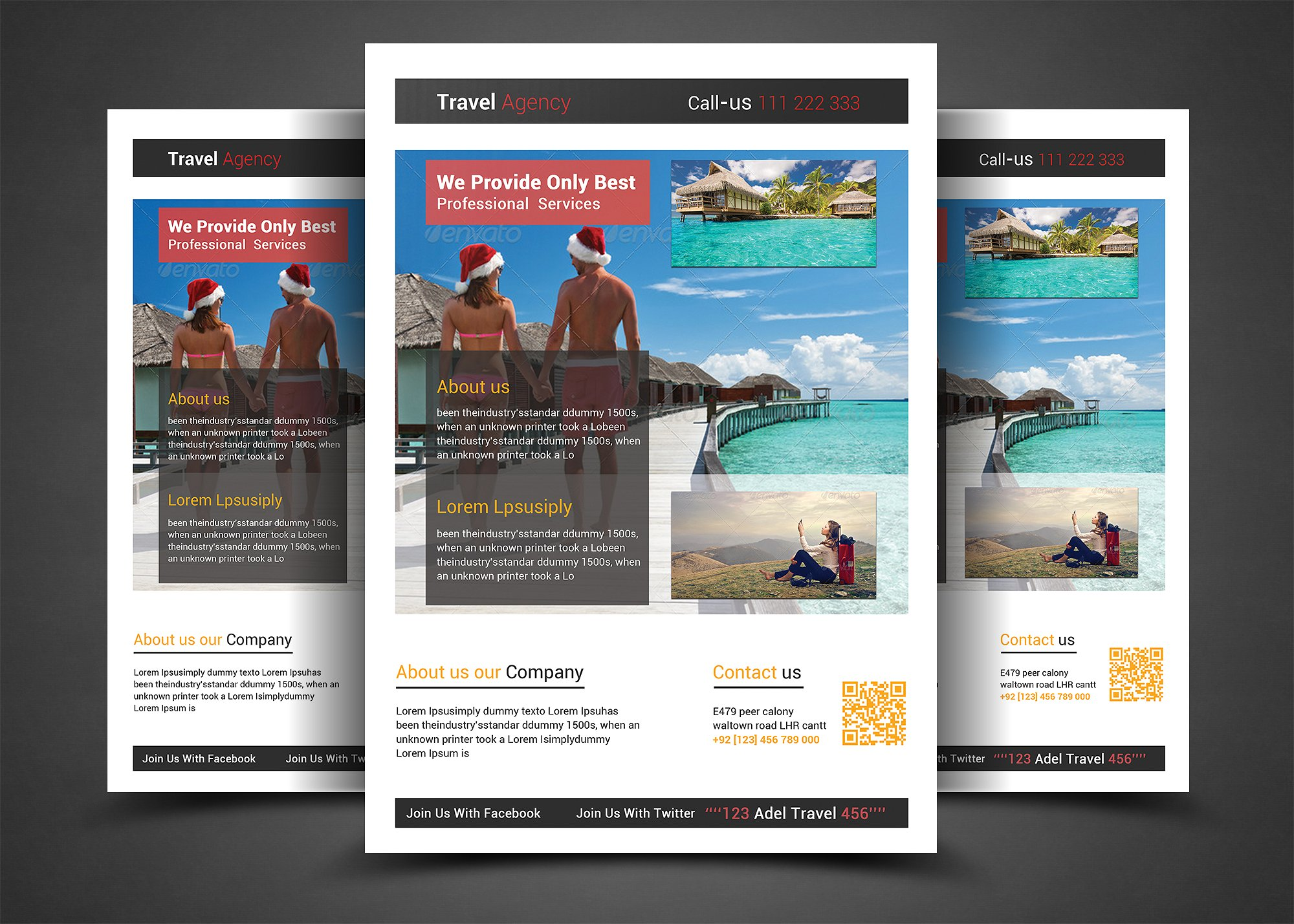 Travel & Tour Holiday Flyer