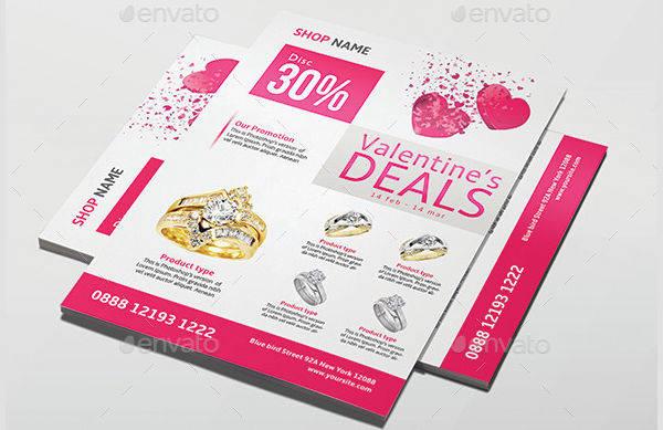 Valentine Promotion Product Flyer