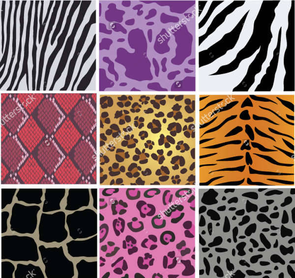 vector animal skin texture