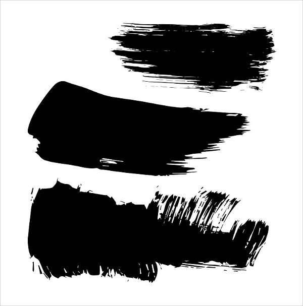 vector brush stroke texture