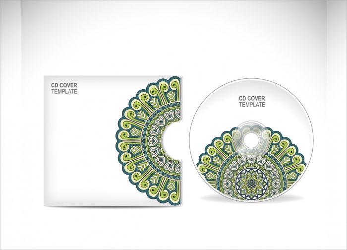 vector cd cover design