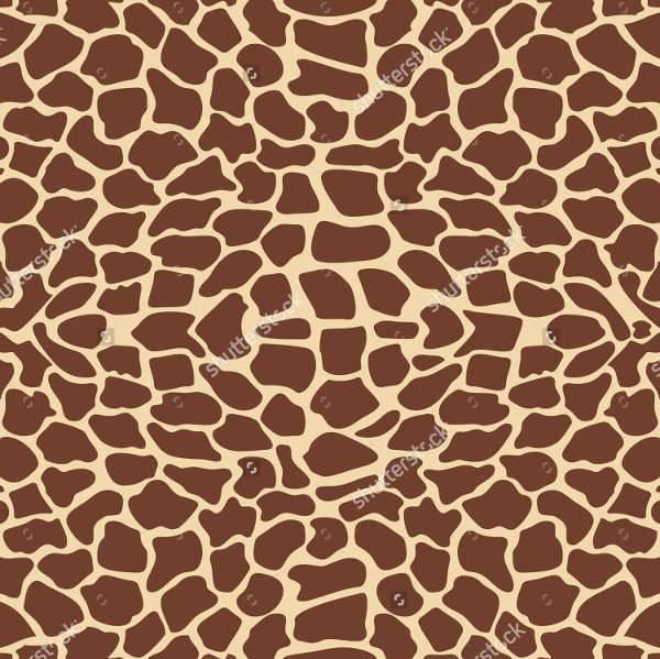 vector giraffe pattern texture