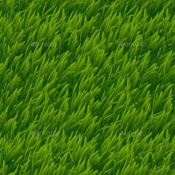 vector green grass texture