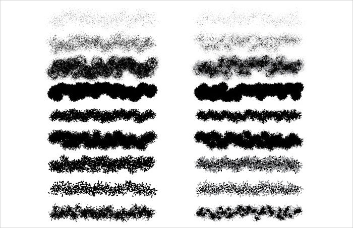 vector texture brushes illustrator