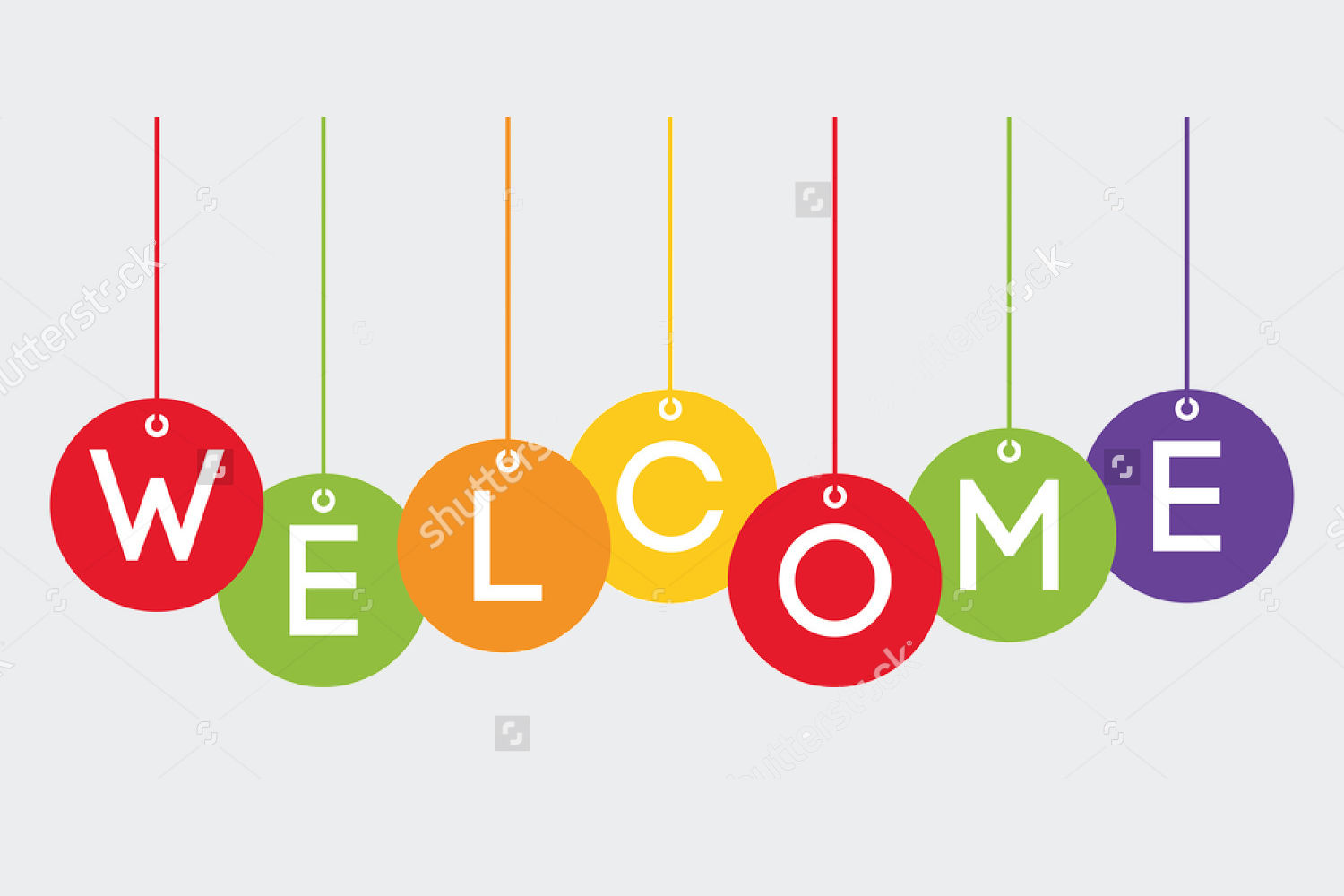 welcome banner design