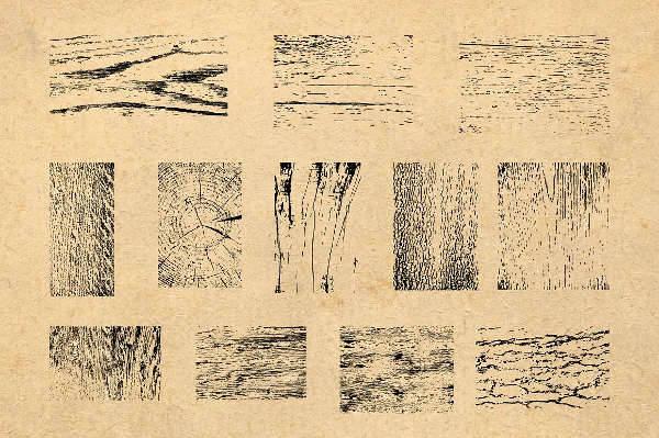 how to make wood grain in illustrator