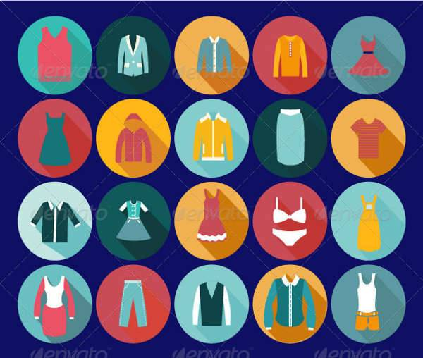 vintage clothing icons1