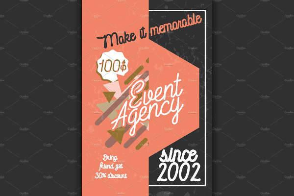 vintage event agency banner