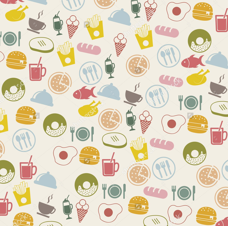 vintage food icons1