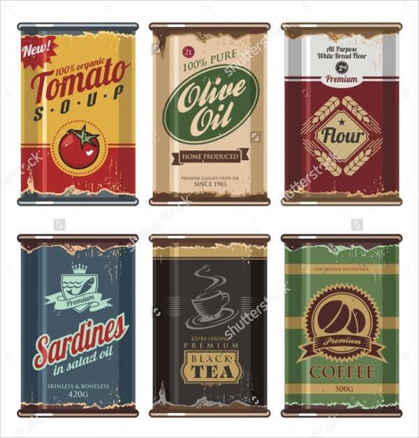 Vintage Food Packaging