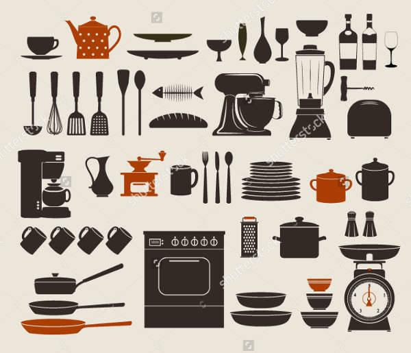 vintage kitchen icons