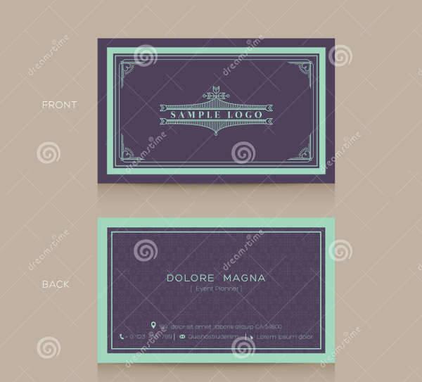 Vintage Name Card