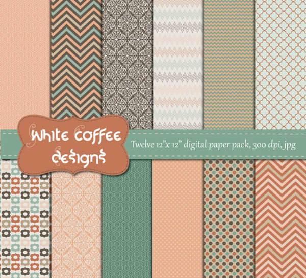 vintage paper patterns