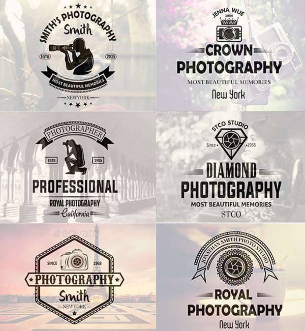 vintage photography logo badge1