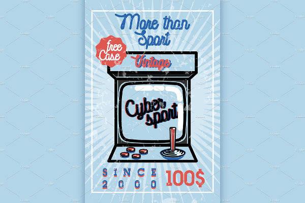 vintage sports banner
