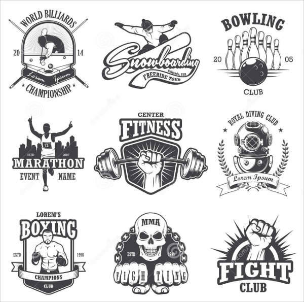Vintage Sports Emblem Logo