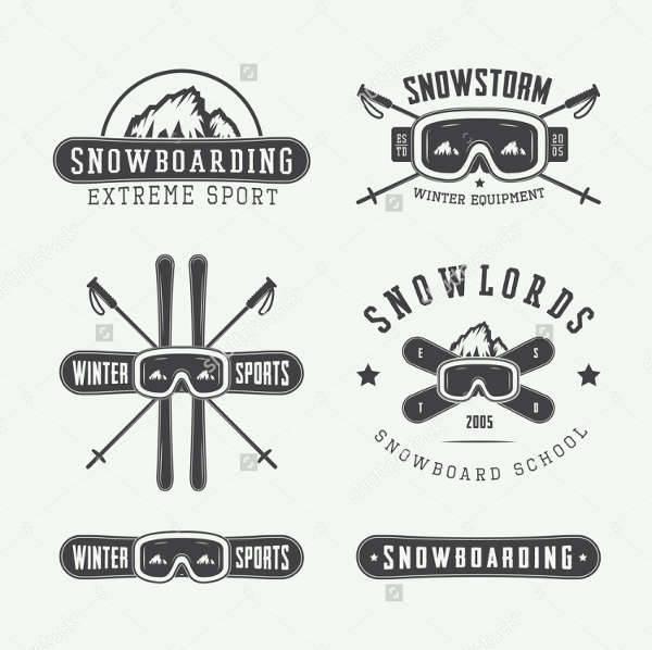 vintage sports logos
