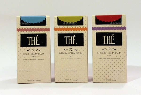 Vintage Tea Packaging Design